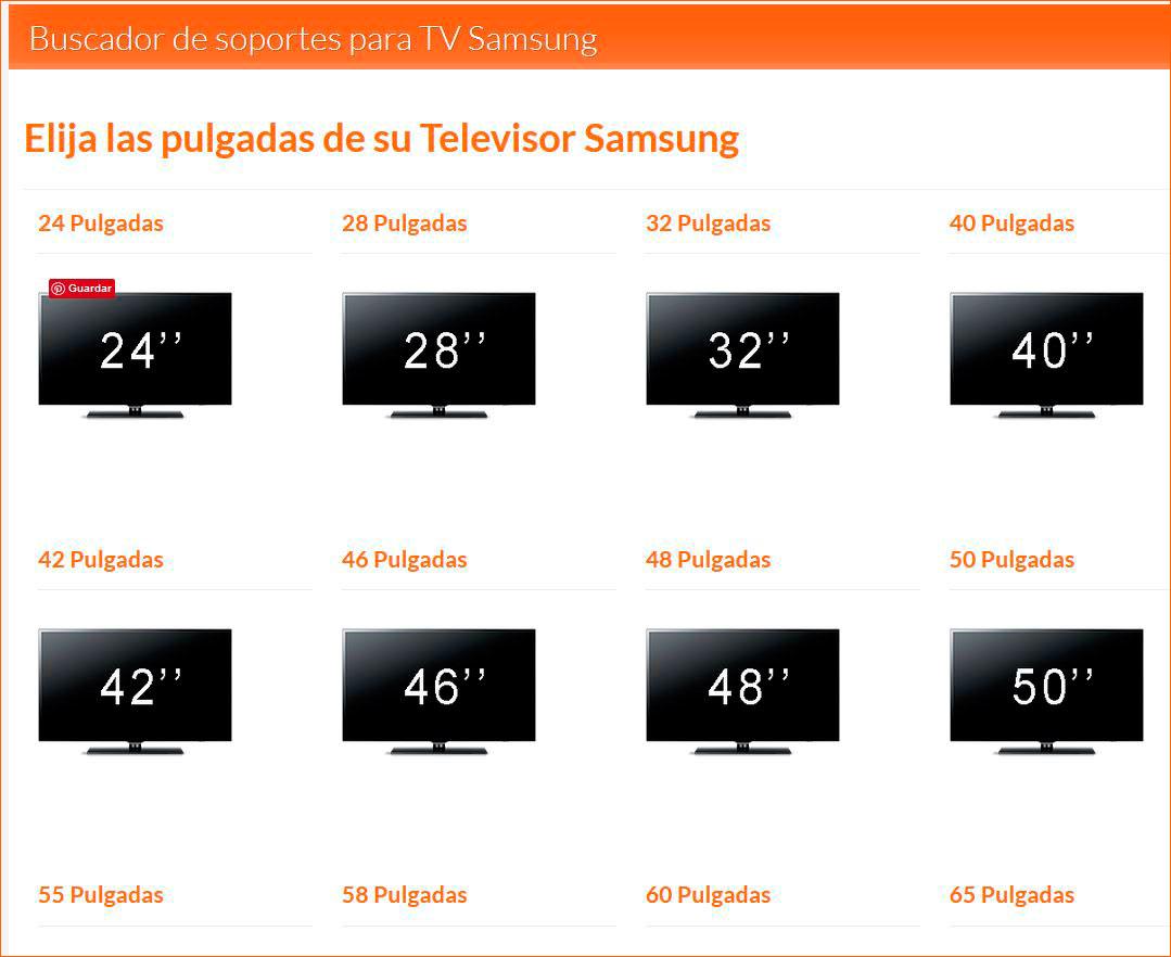 Herramienta buscador de soporte para tv encuentre - Soporte tv 42 pulgadas ...