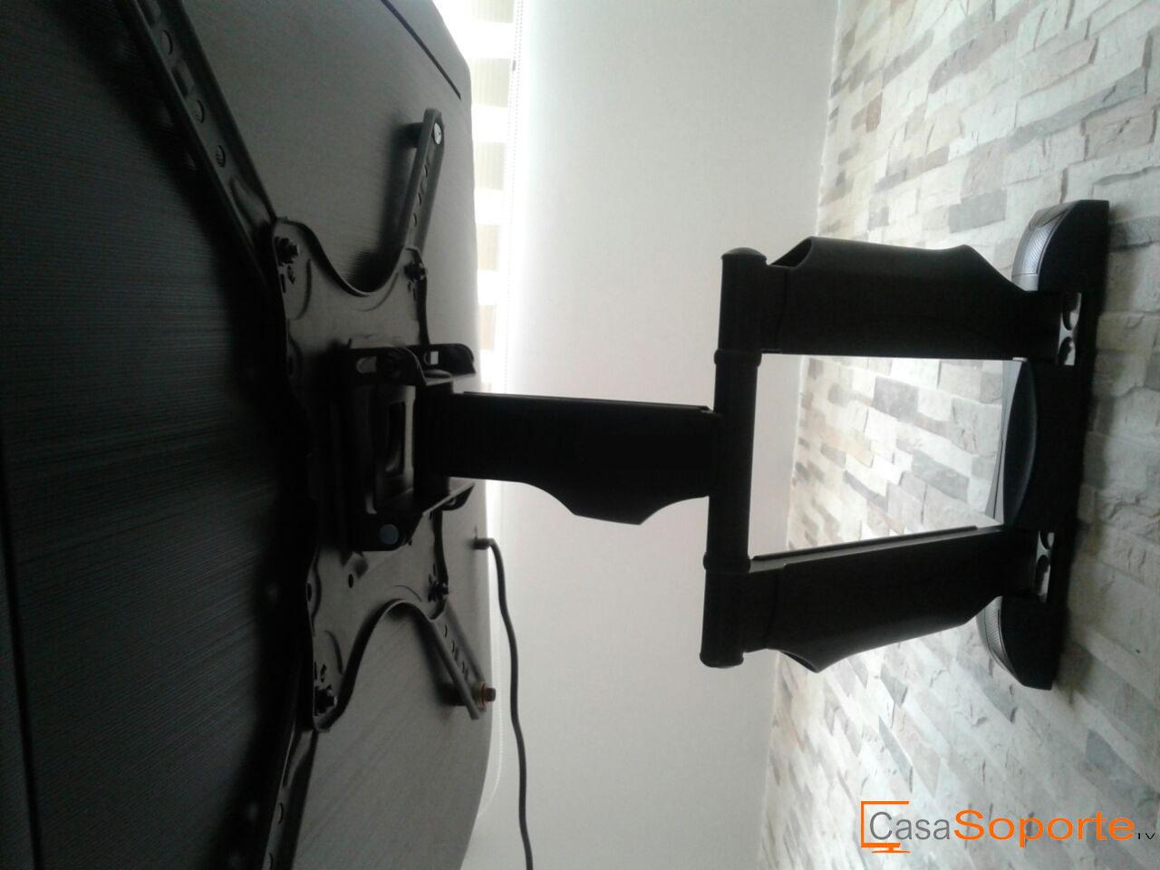 Instalacion de soporte de brazo para telervisor samsung 40 - Distancia televisor 55 pulgadas ...